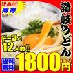 グルメ 送料無料 激ウマ 純生 讃岐 うどん ドーンと12食 便利な個包装タイプ 300g×4袋 1.2kg