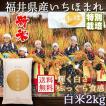 新米 いちほまれ 福井県産 令和3年産 2kg 特別栽培