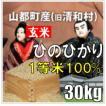 平成30年 玄米 山都町産(旧清和村)ひのひかり 30kg