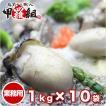 ジャンボ広島かき1kg×10袋(解凍後850g/30粒前後 ) (かき カキ 牡蠣)