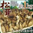 """【送料無料】中国産 """"松茸"""" 約1kg 訳あり 開き方・..."""