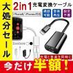 iPhoneX iPhone8 / 8 Plus 互換 イヤホン  2in1 充電変換ケーブル 2ポート付き イヤホン 変換アダプタ レビューを