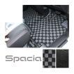 新型 スペーシア フロアマット カスタム マット MK53S ラゲッジマット トランクマット フルセット マット 内装 アクセサリー