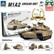 互換 レゴ M1A2 戦車 おもちゃ1:28 エイブラムス ハマー 互換 レゴ lego 2in1