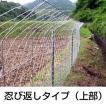 「簡単金網パネルフェンス 100メートル 忍び・折返しタイプ」