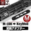スコーピオン対応 NITRO.Vo M-LOK変換Keymodアダプター M(ミディアム)