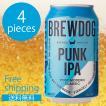 ブリュードッグ パンクIPA 缶 330ml 4本セット CBBD-PICN ビールセット 輸入ビール 海外ビール セット BREW DOG PUNK IPA 4pices 缶ビール