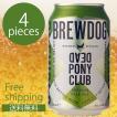 ブリュードッグ デッドポニークラブ 缶 330ml 4個セット CBBD-DECN ビール 輸入ビール 海外ビール セット