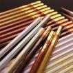 LIRICO・三菱鉛筆uni メール便送料無料 名入れ対象商品 ロマンティック鉛筆/ロデオ鉛筆 六角軸・2B・12本入り 名入れ無料 鉛筆 名前 卒園記念品