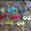 【新色入荷】LT-5016-813 タグア ピアス/イヤリング アクア、 ピアスはキャッチ付き Tagua Earrings Aqua