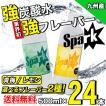 炭酸水 500ml 24本 最安値 強炭酸水 Spark スパーク まとめ買い 九州産 国産 大分県産 発泡水 スパークリングウォーター