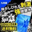 炭酸水 500ml 24本 最安値 強炭酸水 Spark スパーク プレーン  九州産 国産 純水 発泡水 スパークリングウォーター