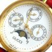 グッチ 時計 ウェブ ムーンフェイズ ユニセックス 白文字盤 2100 BOX GUCCI メンズ レディース ヴィンテージ 激レア