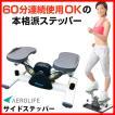 ポイントUP!【送料無料】エアロライフ サイドステッパー[DR-3865] 健康器具 エクササイズ 全身運動ができるステッパー