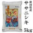 秋田県産 ササニシキ 5kg 新米 29年度 送料無料 送料込み 米 あっさり あまみ お取り寄せグルメ お歳暮