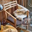 アームチェア 天然木 オーク チェア リビングチェア イス 椅子 チェアー 日本国産 北欧 カフェ 肘付き 高級感 おしゃれ JPC-124OAK
