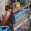 スチールラック シェルフ 天然木 パイン材 棚板幅77cm シェルフ 収納棚 ヴィンテージ 天然木 シンプル 男前 インダストリアル スチール 西海岸 お洒落 WPS-343