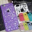 在庫限り iphone6s ケース iphone6 ケース iphoneケース おしゃれ エレガント 薔薇 バラ 花 フラワー 上品 カラフル レディース ハード スマホケース