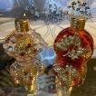 【ボヘミア香水瓶】2個セット