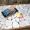 マット 石 天然石 天然石マット ストーン ストーンマット インテリア アジアン アジアン家具 リゾート