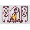 玄関マット ドアマット/ディズニー/ウォッシュ&ドライ/洗える/白雪姫/60×90cm/日本製