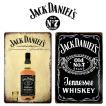 メール便 送料無料 ジャックダニエル Jack Daniel's ブリキ看板 20cm×30cm アメリカン雑貨 / サインボード / サインプレート / バー / レストラン