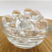 最高級  天然水晶丸玉AAA  8.0ミリ玉 /10粒 【穴なし】 サービス品