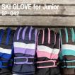 ジュニアスキーグローブ/ジュニア用スキー手袋/子供用...