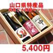 山口県日本酒 お中元 ギフト 周南三大酒蔵セット