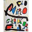 「ミロ銅版画木版画カタログレゾネ第1巻(Miro Engraver 1928-1960)(オリジナル木版画2点入り)」[B190354]