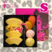 【暑中見舞い】【お祝い・ギフトに】 マダムシンコ のカラフルポップなアソート 『 アソート S 』【冷蔵便】バウムクーヘン 焼菓子 詰め合わせ 大阪