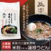 米の麺 うどん 5食パック 米粉麺 新潟県産コシヒカリ100%の米粉 グルテンフリー
