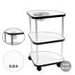 業務用3段式サイドテーブルSW-11灰皿付・送料無料