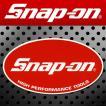 Snap-on スナップオン アメリカンステッカー オーバルロゴ・レッド 001アメリカン雑貨