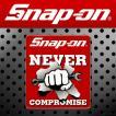 Snap-on スナップオン アメリカンステッカー NEVER スパナ&ナックル 002 アメリカン雑貨