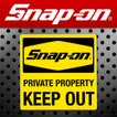 Snap-on スナップオン アメリカンステッカー KEEP OUT 006 アメリカン雑貨