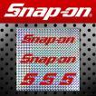 Snap-on スナップオン アメリカンステッカー プリズムバックロゴ 5ピース 010 アメリカン雑貨