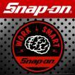 Snap-on スナップオン アメリカンステッカー WORK SMART  脳  012 アメリカン雑貨