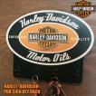 HARLEY-DAVIDSONハーレーダビッドソン  MOTOR OIL パブサインキーラック ウッドサイン アメリカン雑貨