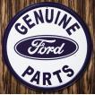 ブリキ看板 TINサイン Ford Parts フォードパーツ 丸型 アメリカン雑貨 アメリカ雑貨