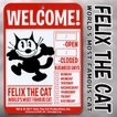 FELIX フィリックス WELCOM プラスチックサイン ウェルカムボード