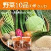 野菜セット 10種類 米とひしお2個付き