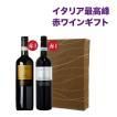 赤ワインセット フルボディ ワインギフト ワイン評論家絶賛 豪華イタリア赤ワインセット