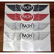 RASH ラッシュ羽マーク特大ステッカー(カラー5色)/ ラッシュウェットスーツ サーフィン