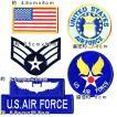 アメリカ空軍 ミリタリーワッペン エンブレム 米空軍 セット