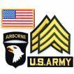 アメリカ陸軍 ミリタリーパッチ ARMY スクリーミングイーグルセット