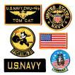 アメリカ海軍 ミリタリーパッチ 米海軍 ワッペンセット