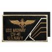 アメリカ軍 ミリタリーワッペン 米海軍士官エンブレムL