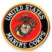 アメリカ軍 ミリタリー ワッペン 米海兵隊エンブレムM