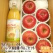 りんごジュース&Cランク 家庭用りんご6玉セット 送料無料 長野県産 予約商品